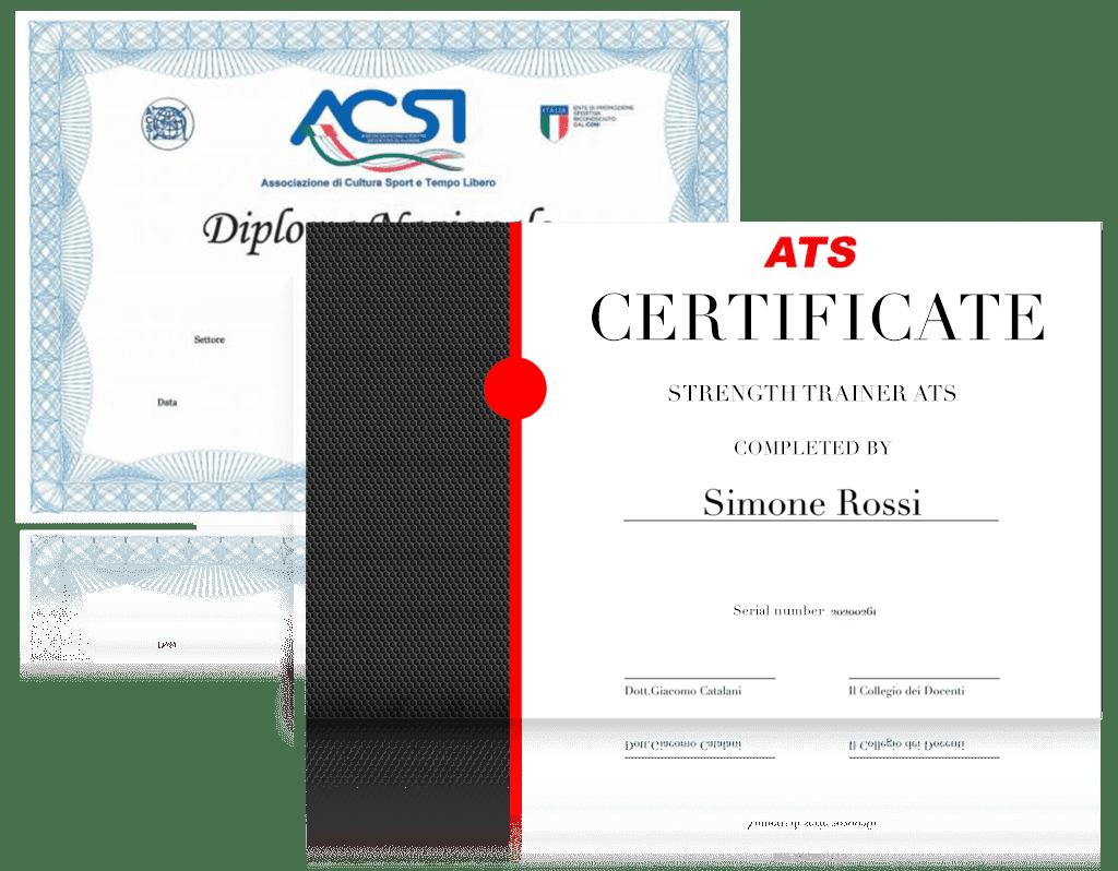 strenth certificate